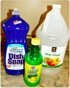 Remove hard water stains