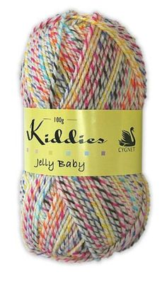 Kiddies Jelly Baby Yarn #myhigh