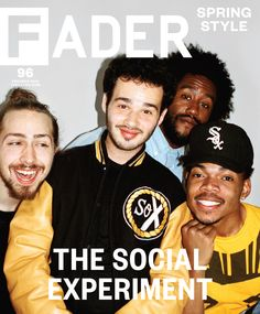 Chance The Rapper rides for his homies. (Peter.Fox. Nico ) Though they've all united with the common goal of finding pure joy in music-making—and sidestepping some of the industry expectations that so often stifle that joy—a lot of that translates to just hanging out. He's buried himself in a group setting, deferring a shot at becoming a more-than-reasonably-famous rapper in favor of an uncentered, cross-genre collaboration with his friends.