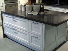 Kitchen Counter Top Trend | Poured Concrete
