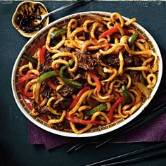 """""""This recipe is inspired by one of the most popular items on the menu at my family's restaurant in Ottawa,"""" says Food specialist Irene Fong. """"My uncle used flat rice noodles in his version, but udon is easier to cook. The restaurant has long since closed, but this recipe is a reminder of the dishes my family loves."""""""