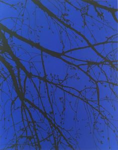 Ultramarine, 2020, acrylic on canvas, 64 x 80 cm Original Art, Original Paintings, Black Silhouette, Realism Art, Nature Paintings, Buy Art, Saatchi Art, Canvas Art, Fine Art
