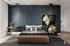 Best Ideas For Bedroom Design Industrial Quartos Small Bedroom Interior, Contemporary Bedroom Furniture, Small Room Bedroom, Trendy Bedroom, Home Interior, Home Decor Bedroom, Modern Bedroom, Bedroom Ideas, Bedroom Classic