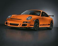 orange porsche 911 gt3 rs