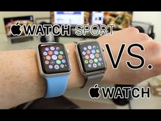 Apple Watch vs. Apple Watch Sport (Comparison) - YouTube
