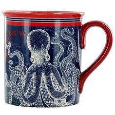 Pier 45 Octopus Mug