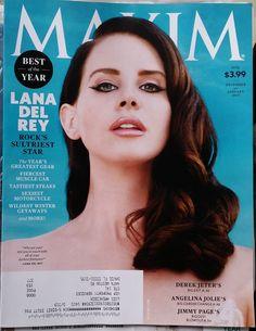 Lana Del Rey,Maxim Magazine,December,2014,Men's Interest,sports,Celebrity,Music.