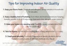 Tips for improving indoor #air #quality. Keep your air clean and healthy for your baby. Pin Now, Read Later!