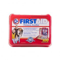 100 Piece First Aid Kit (compact)