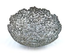 OB071A Varity of leaf 38x38x14 cm.Price: 250.00 $ Pewter products for home Decoration. #pewter #designer #leaves #pumeria #decor #homedecoration