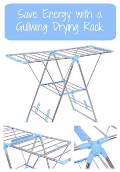 Clothes Laundry Drying Rack Folding Hanger Storage Stand Home RV Camping Trailer - Go Shop Home & Garden Indoor Clothes Drying Rack, Drying Rack Laundry, Laundry Dryer, Shoe Holders, Folding Laundry, Rack Design, Cool House Designs, Washing Clothes, Clothes Dryer