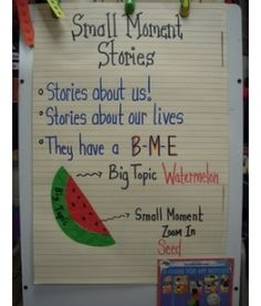writers workshop.[[taught this lesson during student teaching and could have really used this awesome example!]]