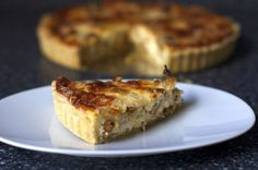 roasted cauliflower caramelized onion tart