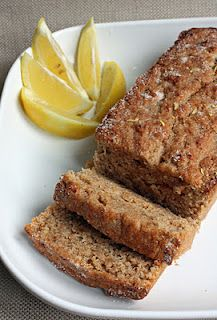 Lemon Chia Cake. Wheat and dairy-free. However, this does contain some gluten since it uses spelt. I love lemon stuff. Yet another recipe I can't wait to try!