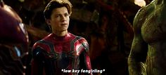 While tony and peter quill argue