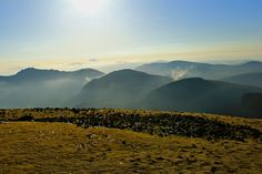 View from the summit of Slieve Donard, Northern Ireland