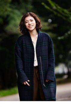 松岡茉優mayu_matsuoka.  Character inspiration for Anne