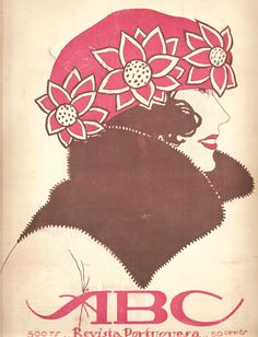 ABC: Revista Portugueza magazine cover, 1920s by Jorge Barradas.