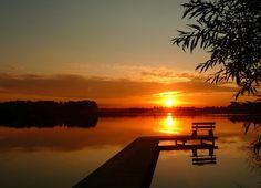 Mazury /POLAND/ | Dlatego ubóstwiam zachody słońca.