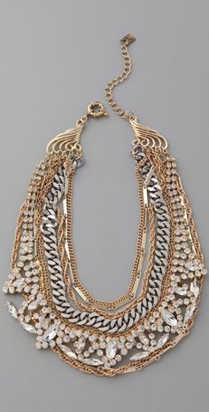 Mirage necklace, by Juliet & Company