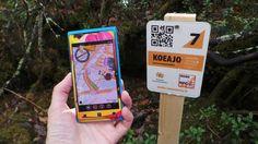 Mobiilisuunnistaja - rastien metsästystä