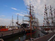 Tallships. Friesland-Holland. Dit was in Harlingen.