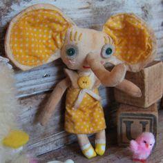 vintage-looking handmade dolls