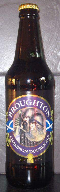 Broughton Ales LTD. -  Champion Double ale 5,5% pullo