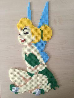 Pixel Bead Tinker Bell Hama Art by BeadsByGeeks on Etsy