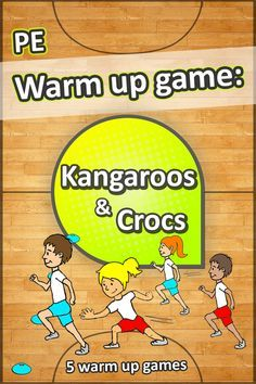 This quick-reacting sprinting warm up game is great for any PE lesson - Teaching sport has never been easier! 5 awesome PE warm up games Pe Games Elementary, Elementary Physical Education, Science Education, Health Education, Elementary Schools, Waldorf Education, Baby Education, Pe Lessons, Lessons For Kids