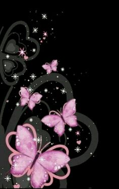Most Beautiful Butterflies Wallpaper My image Butterfly Gif, Butterfly Pictures, Butterfly Wallpaper, Butterfly Kisses, Art Papillon, Papillon Rose, Cellphone Wallpaper, Iphone Wallpaper, Pink Wallpaper