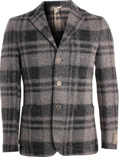 Lombardy Windowpane Wool Sport Coat - Bench & Loom