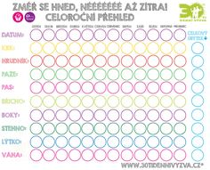 30ti denní výzva - Měření - tabulka Workout, Words, Health, Fitness, Bambi, Sport, Diet, Minimalism, Deporte
