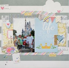 Life - Scrapbook.com - Made with the Disney Princess inspired Enchanted collection by Simple Stories.