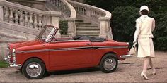 Autobianchi Bianchina Convertible 1960  Not the size of the Auto but the magic it creates!!
