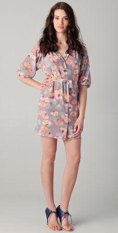 Tucker Classic Smocked Mini Dress: soft for spring