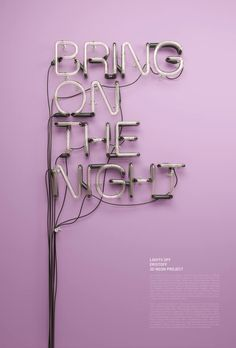 The 3D Typography and Illustrations of Rizon Parein