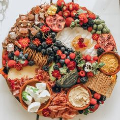 Cheese Platter // Platter Board // The Pre Platter ~ Party Food Platters, Party Trays, Cheese Platters, Antipasto, Charcuterie And Cheese Board, Cheese Boards, Kfc Chicken Recipe, Good Food, Yummy Food