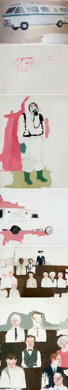 very painterly // Jennie Ottinger via Jealous Curator via Art Hound