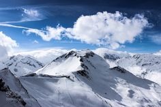 Popular on 500px : View from the top of Bad Gastein mountain in Austria by EvaldMunksgaardHansen