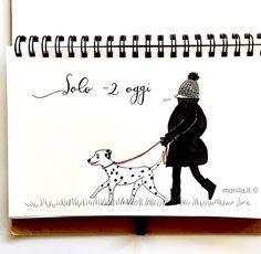Monila handmade,illustrazione,illustration,sketch,dalmata,dalmatian