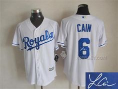 http://www.xjersey.com/royals-6-lorenzo-cain-white-signature-edition-new-cool-base-jersey.html Only$35.00 ROYALS 6 LORENZO CAIN WHITE SIGNATURE EDITION NEW COOL BASE JERSEY Free Shipping!