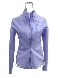 ken okada Chemise coton satin bleu ANTOINE http://shop.ken-okada.com/fr/okada-pur-chemise-femme-chic-coton/228-chemise-coton-satin-bleu-antoine-ken-okada. ...