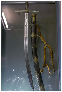 polish- hungarian saber of king Stephen Báthory