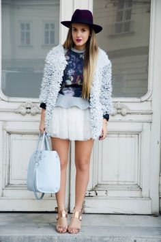 fluffy jacket outfit