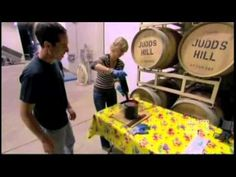 Samantha Brown Wine Blending at Judd's Hill Winery