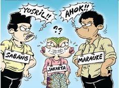 Mice Cartoon, Rakyat Merdeka - Maret 2016: Yusril atau Ahok?