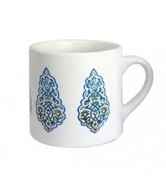 Kalamkari Small Blue Mug
