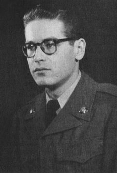 Bill Evans during his time in the military, 1959