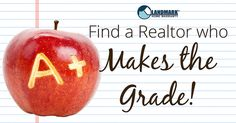 How can you be sure to find a Realtor who Makes the Grade? Use these tips!